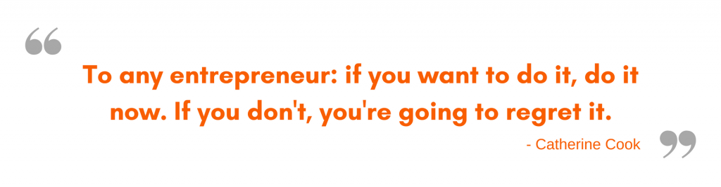 Message to Entrepreneurs