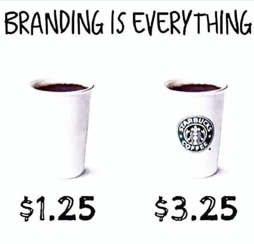 Magic of a brand logo